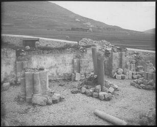 Glasplattendia Jakobsbrunnen [im Garizim bei Nablus]