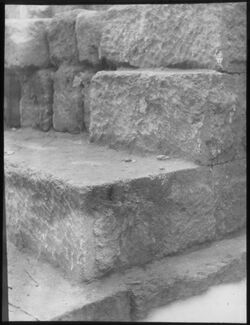 Glasplattendia Omris Burg, Samarien