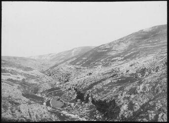Glasplattendia wadi fara (unterhalb) v. W.