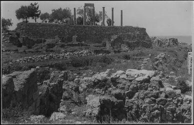 Glasplattendia Römischer Tempel in Byblos