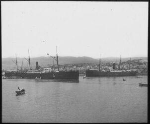 E XI 19; Glasplattendia; Hafen von Beirut