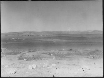 Glasplattendia Jesreelebene und Nazaret [Nazareth]