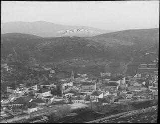 Glasplattendia Nazareth von N. Westteil nebi dahi