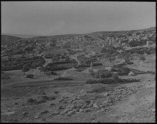 Glasplattendia Nazareth von Osten