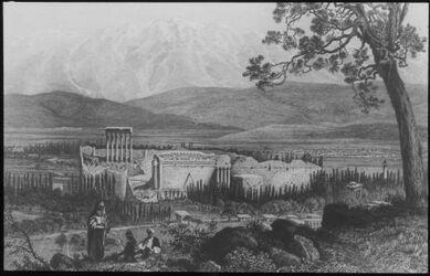 Glasplattendia Baalbek u. Libanon