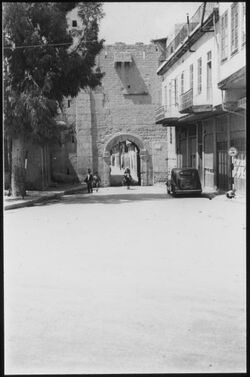 Glasplattendia Damaskus, Röm. Tor
