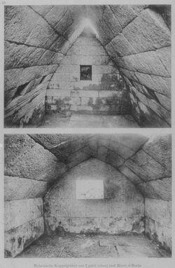 Glasplattendia Ugarit [Ras esch-schamra] und Minet el-Beida, Myken. Kuppelgräber