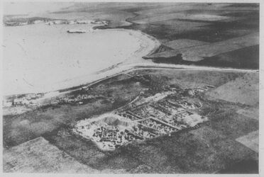 Glasplattendia Minet el-Beida [Ras esch-schamra], Luftbild