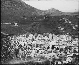 Glasplattendia Theater in Ephesus