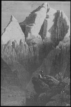 Glasplattendia Wadi es-Sidr (Sinai)