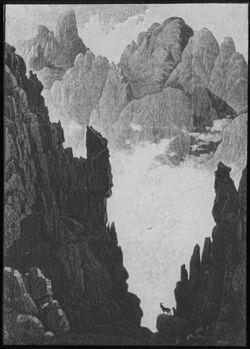Glasplattendia Dscheel Sara [gebel sara] am Sinai der Mönche