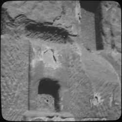 Glasplattendia Pfeileridol Nr. 389d [Petra]