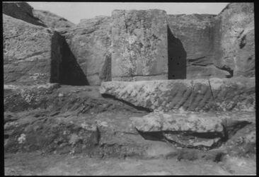 Glasplattendia Pfeileridol Nr. 762d [Petra]