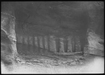 Glasplattendia Zehnpfeilergruppe Nr. 145 [Petra]