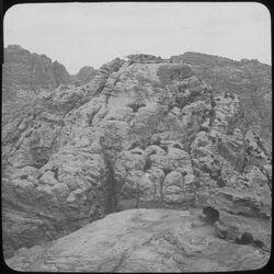 Glasplattendia gebel en-umer Nr. 276 P II [Umgebung Petra]