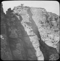 Glasplattendia Treppe von gebel en-umer 276 [Umgebung Petra]