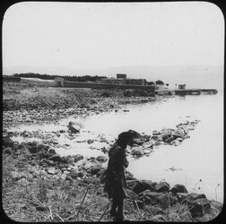 Glasplattendia Capernaum [Kafarnaum]