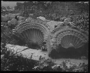 Glasplattendia Conchen., Synagoge v. Kerazie [hirbat karaza]