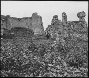 Glasplattendia Palästina. Tiberias. See Genezareth. Ruinen