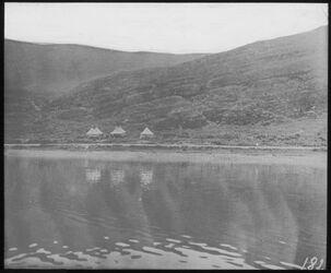 Glasplattendia Lager unter d. Burgberg v. Tiberias