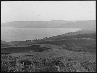 Glasplattendia el-ruwer und See von oberhalb wadi eggamus [durchgestrichen]