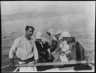 Glasplattendia See v. Tib. [See Genezareth], Schmidt, Dalm., Schl., Weiss, Hjelt, Windf. 5. Apr 1911