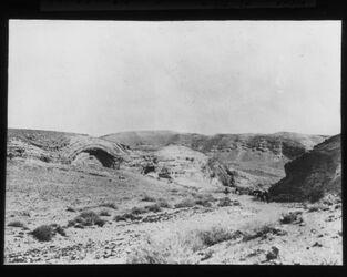Glasplattendia Wüste Juda, zw. En gidi [En-Gedi] u. ferdis