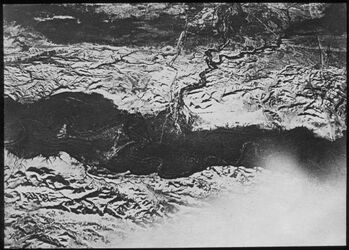 Glasplattendia Jordan, Taufstelle [Hadschla-Furt], v. O., w. [wadi] kelt