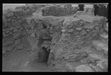 Glasplattendia Chirbet Qumran: Wasserbassin