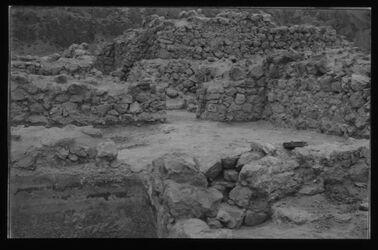 Glasplattendia Chribet Qumran, Wachturm