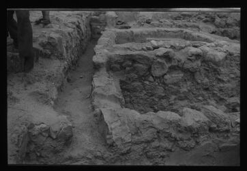Glasplattendia Chirbet Qumran, Wasserkanal