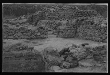 Glasplattendia Chirbet Qumran