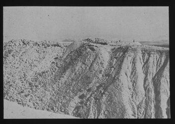 Glasplattendia Ch. [chirbet] Qumran