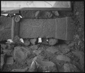 Glasplattendia Altar in el-kunetra