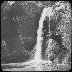 Glasplattendia Wasserfall v. Geras [Gerasa]