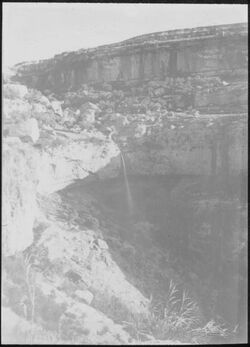 Glasplattendia W. [wadi] et-tafile