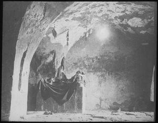 Glasplattendia Grab Aarons bei Petra