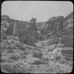 Glasplattendia Schlangengrab u. Turm 310 [Petra]