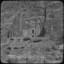 Glasplattendia Urnengrab [Petra]