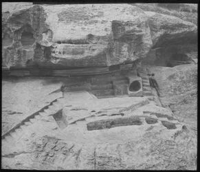 Glasplattendia el-medras Petra