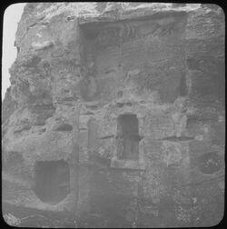Glasplattendia Idolnische Nr. 778 [Umgbung Petra]
