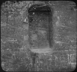 Glasplattendia Nische Nr. 76a [Petra]