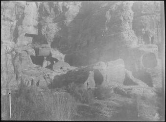 Glasplattendia Drittes Heiligtum unter Chubta [Petra]