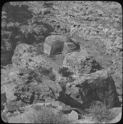 Glasplattendia Heiligtum v. el-habis, Nr. 378 [Petra]