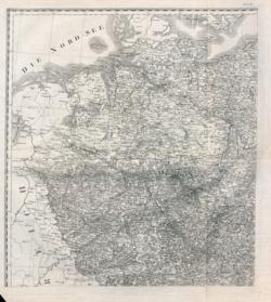 General-Charte von Teutschland in vier Blättern Altkarten; Topographische Karten - Landkarten