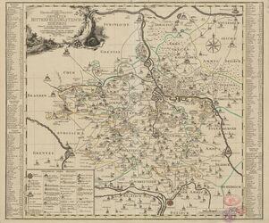 Accurate Geograph. Delineation derer Aemmter Bitterfeld, Delitzsch u. Zoerbig Altkarten; Thematische Karten - Politik-, Rechts- und Verwaltungskarten