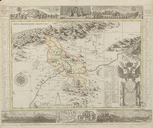 Die Herschaft Toeplitz im Leutmeritzer Creisse des Königreichs Boehmen Altkarten; Thematische Karten - Politik-, Rechts- und Verwaltungskarten