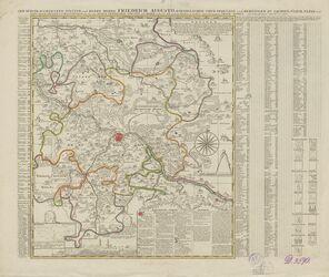 Accurate Geographische Delineation Der Dioeces Und Des Ammtes Dresden Altkarten; Thematische Karten - Politik-, Rechts- und Verwaltungskarten