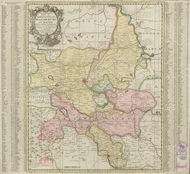 Geographische Karte des Hertzogthums Magdeburg und Halle Altkarten; Thematische Karten - Politik-, Rechts- und Verwaltungskarten