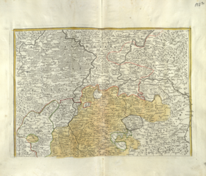 S.R.I. Principatus Fuldensis in Buchonia Altkarten